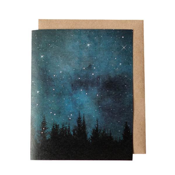 Card - Night Sky by Red Umbrella Designs