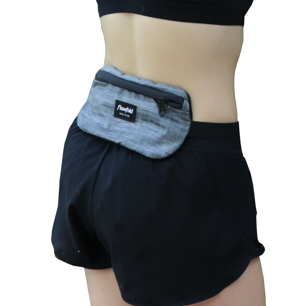 Waist Belt - RFID Blocking Scout Heather Grey by Flowfold