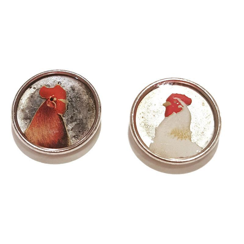 Earrings - Chicken Studs by XV Studios