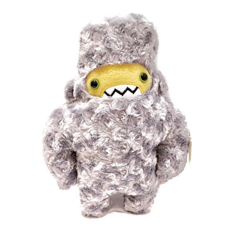 Woolly Yeti - Grey with Yellow Face and Green Eyes by Careful It Bites