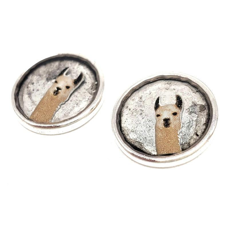 Earrings - Llama Studs by XV Studios