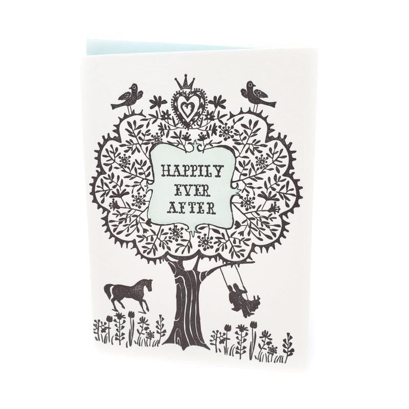 Card - Wedding - Happily Ever After by Ilee Papergoods