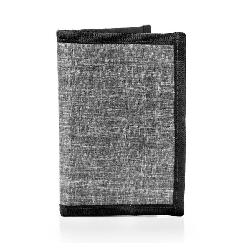 Passport Holder - RFID Blocking Navigator Heather Grey by Flowfold