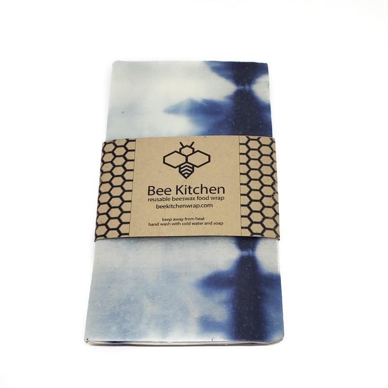 Wraps - Large 12x12 Shibori Beeswax Food Wraps by Bee Kitchen
