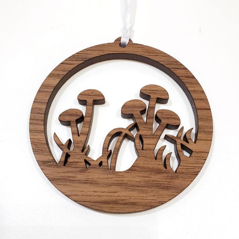 Ornaments - Mushroom Scene by 6 by 6 Arts