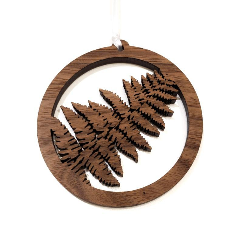Ornaments - PNW Fern Frond by 6 by 6 Arts