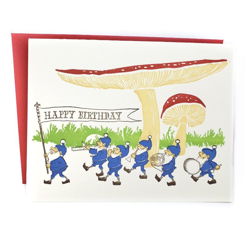 Card - Birthday - Gnomes Birthday by Ilee Papergoods