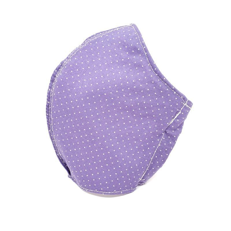 Large - Purple Polka Dots (white lining) by imakecutestuff