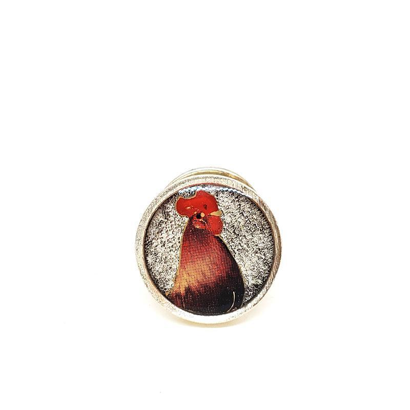 Lapel Pin - Rooster by XV Studios