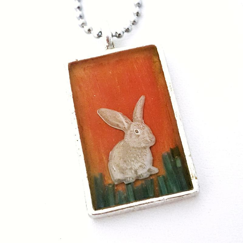 Pendant - Evening Rabbit by XV Studios