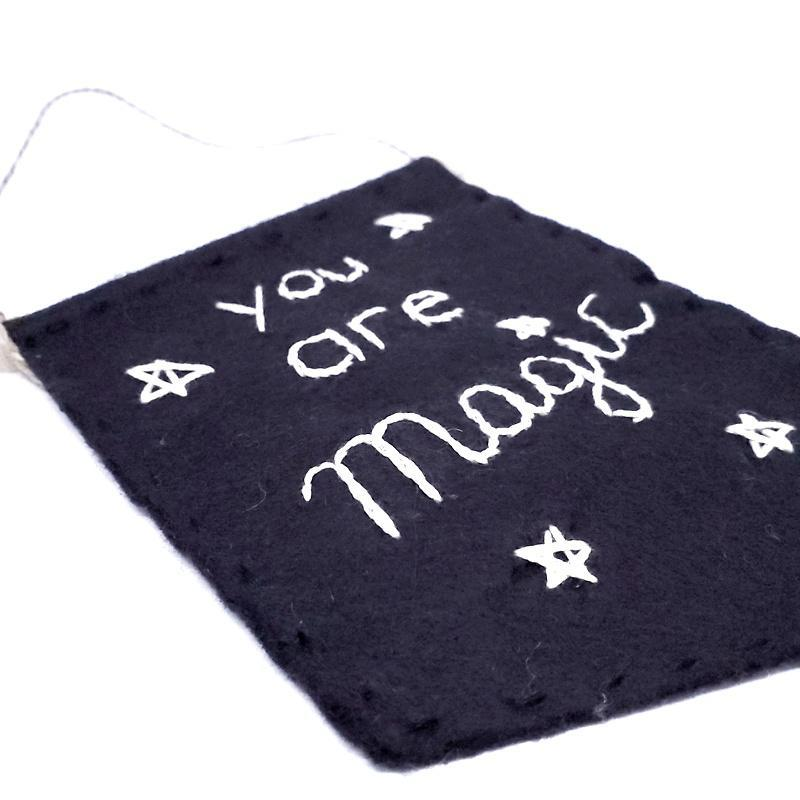 Banner - You are Magic by Catshy Crafts