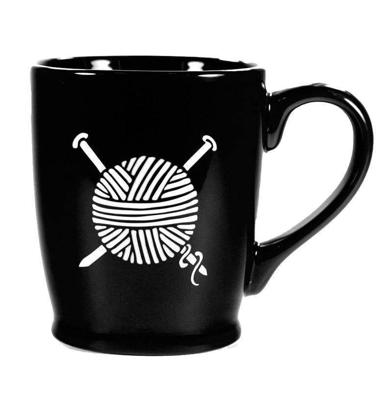 Mug - 16oz Black Yarn (Retired) by Bread & Badger