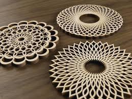 Coasters - Spirals set of 6 by Five Ply Design