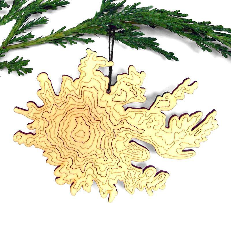Ornament - Mt. Rainier Topography by SML