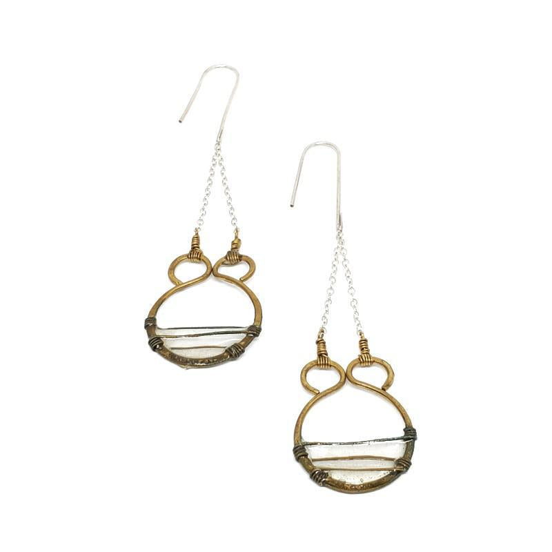 Earrings - Gate Ivory by Verso Jewelry