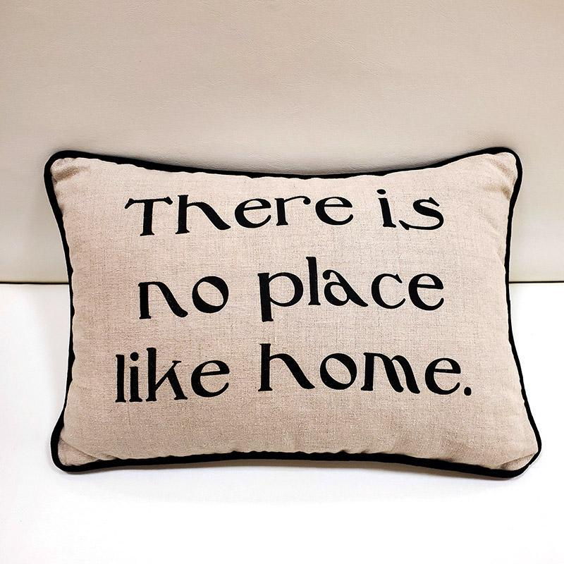 Pillow - There is No Place Like Home Rectangle by Suzanne Harrison Home