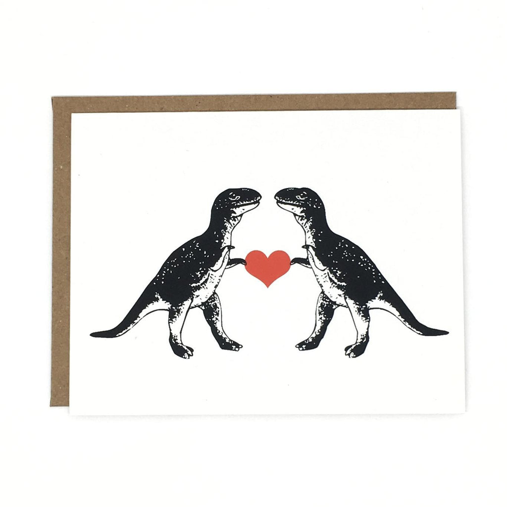 Card - Love - T-Rex Love by Orange Twist