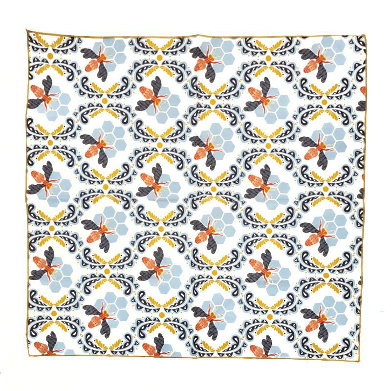 Napkins - Set of 4 Bee Cloth Napkins by Dot and Army