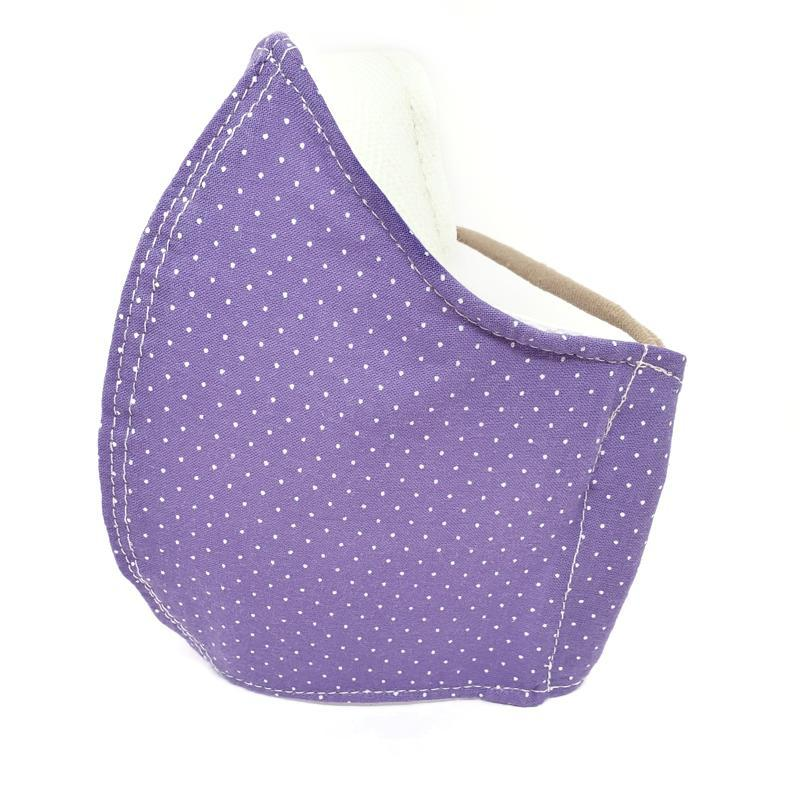 Medium - Purple with Dots and White Lining by imakecutestuff