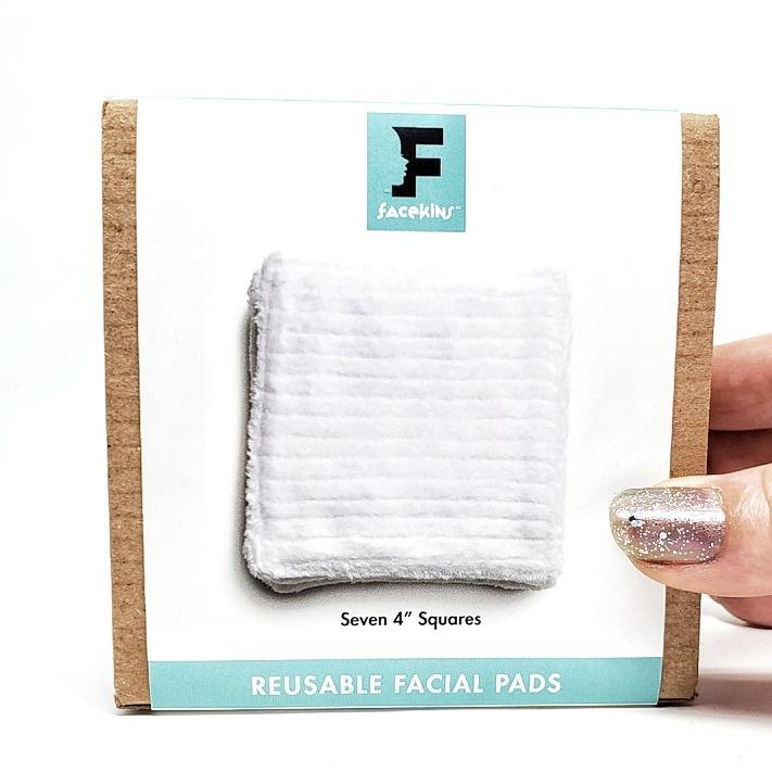 Face Pads - Large 4 inch Squares Set of 7 by Facekins