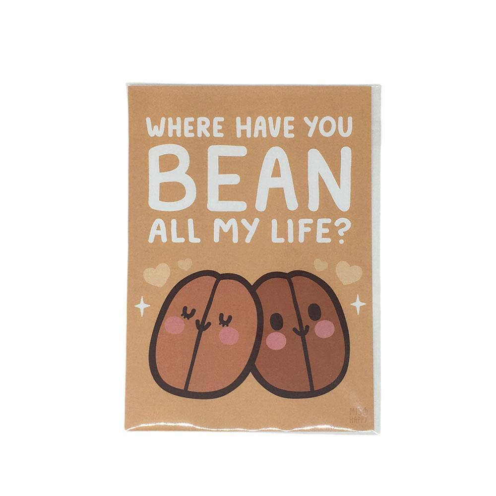 Art Print - 5x7 - Where Have You BEAN by Mis0 Happy