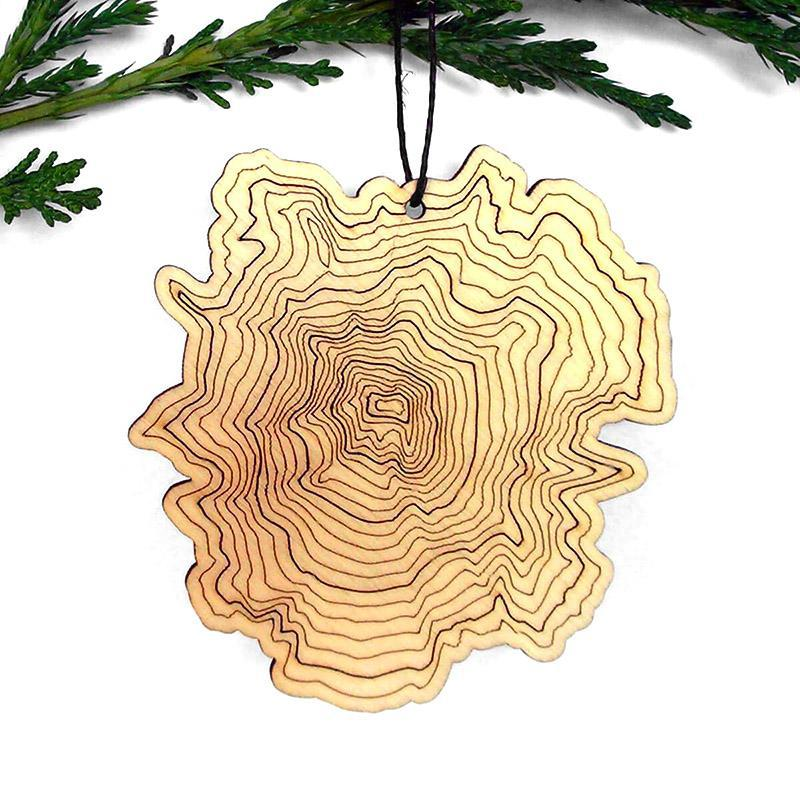 Ornament - Mt. Hood Topography by SML