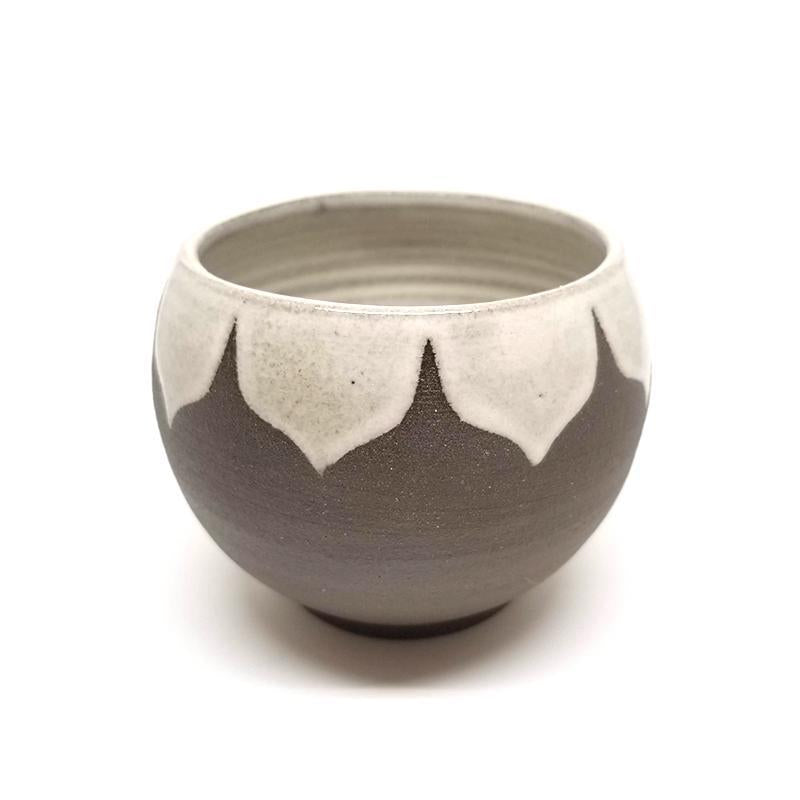 8oz Tea - White Moroccan by Foxtail Pottery