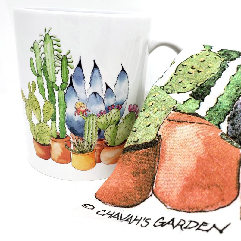 Gift Bundle - Cacti Lover featuring Chavah's Garden and Catshy Crafts