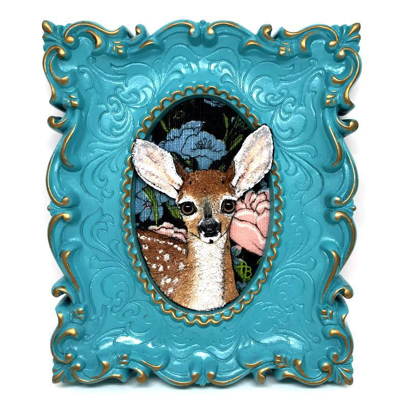 Applique Art - Deer by Alise Baker of Chubby Bunny