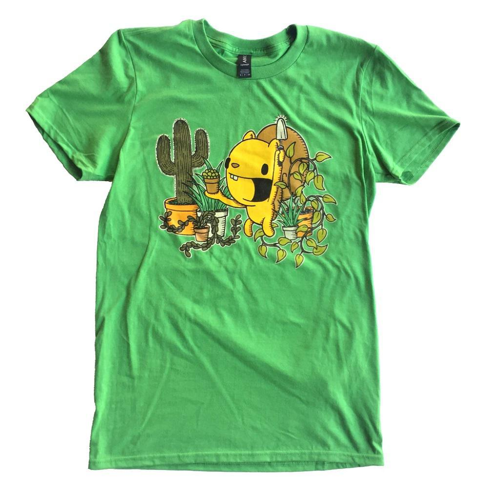 Green Thumb (GT) Crew Neck Tee by everyday balloons print shop