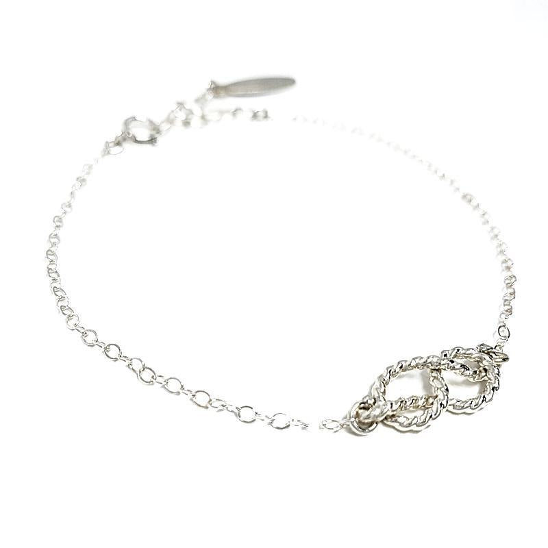 Bracelet - Sailor's Knot Sterling Silver by Foamy Wader