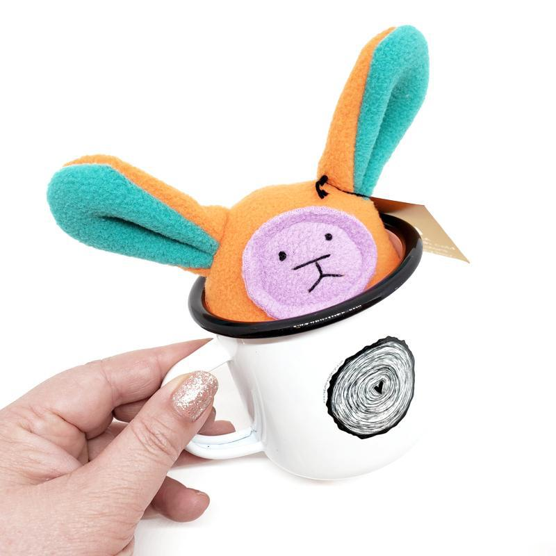 Gift Bundle - Bunny Rattle in a Mug featuring Mr. Sogs and Red Umbrella