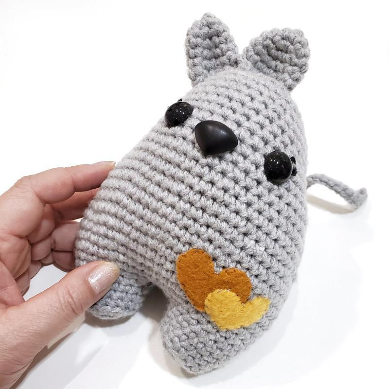 Plush Toy - Large Mouse by Moyo Workshop