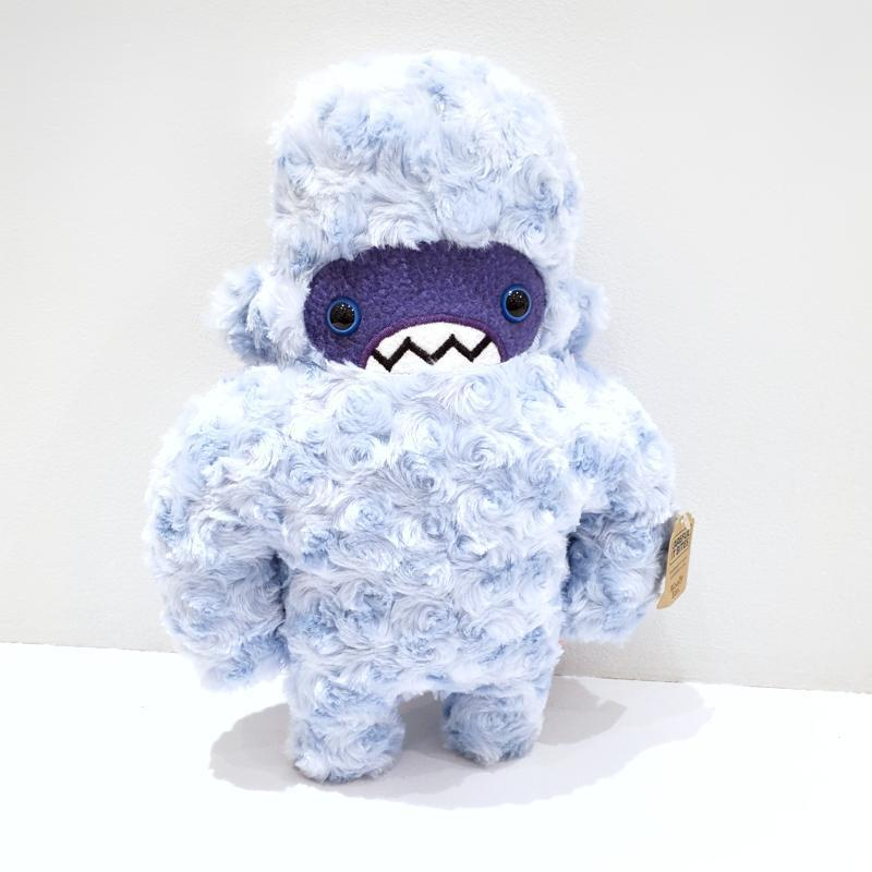 Wooly Yeti - Ice Blue Purple Face Blue Eyes by Careful It Bites