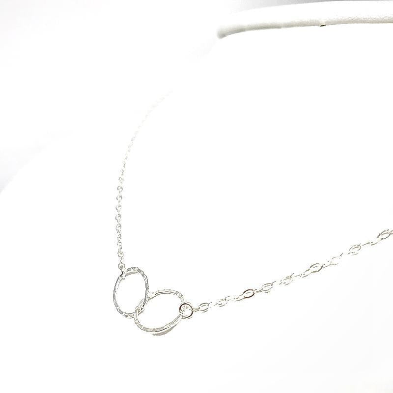 Necklace - Infinity Sterling Silver by Foamy Wader