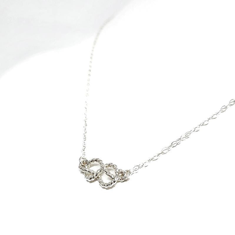 Necklace - Sailor's Knot Sterling Silver by Foamy Wader