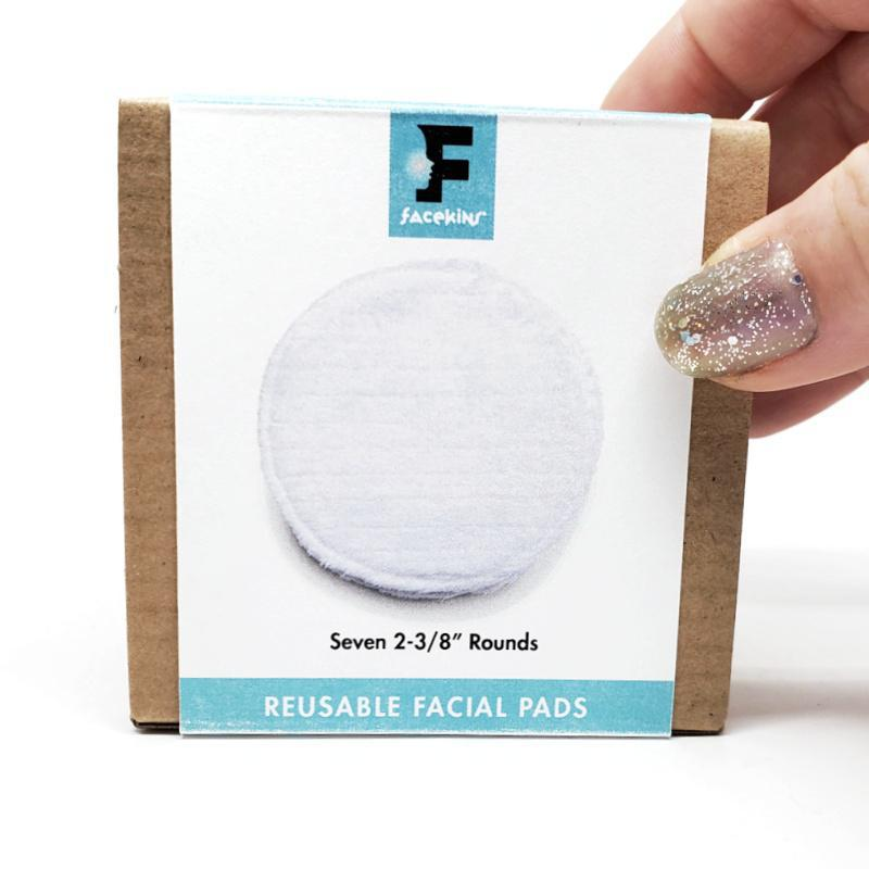 Face Pads - Small 2 3/8 inch Rounds Set of 7 by Facekins