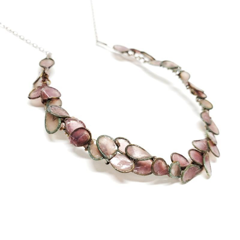 Necklace - Cherry Blossom Blush by Verso Jewelry