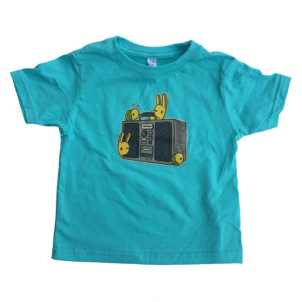 Kids Boombox Buddies (BB) T-Shirt by Everyday Balloons Print Shop