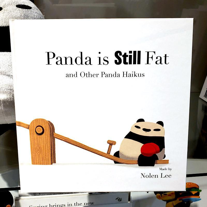 Book 2 - The Panda is STILL Fat and Other Panda Haikus (Hard or Soft Cover) by Punching Pandas