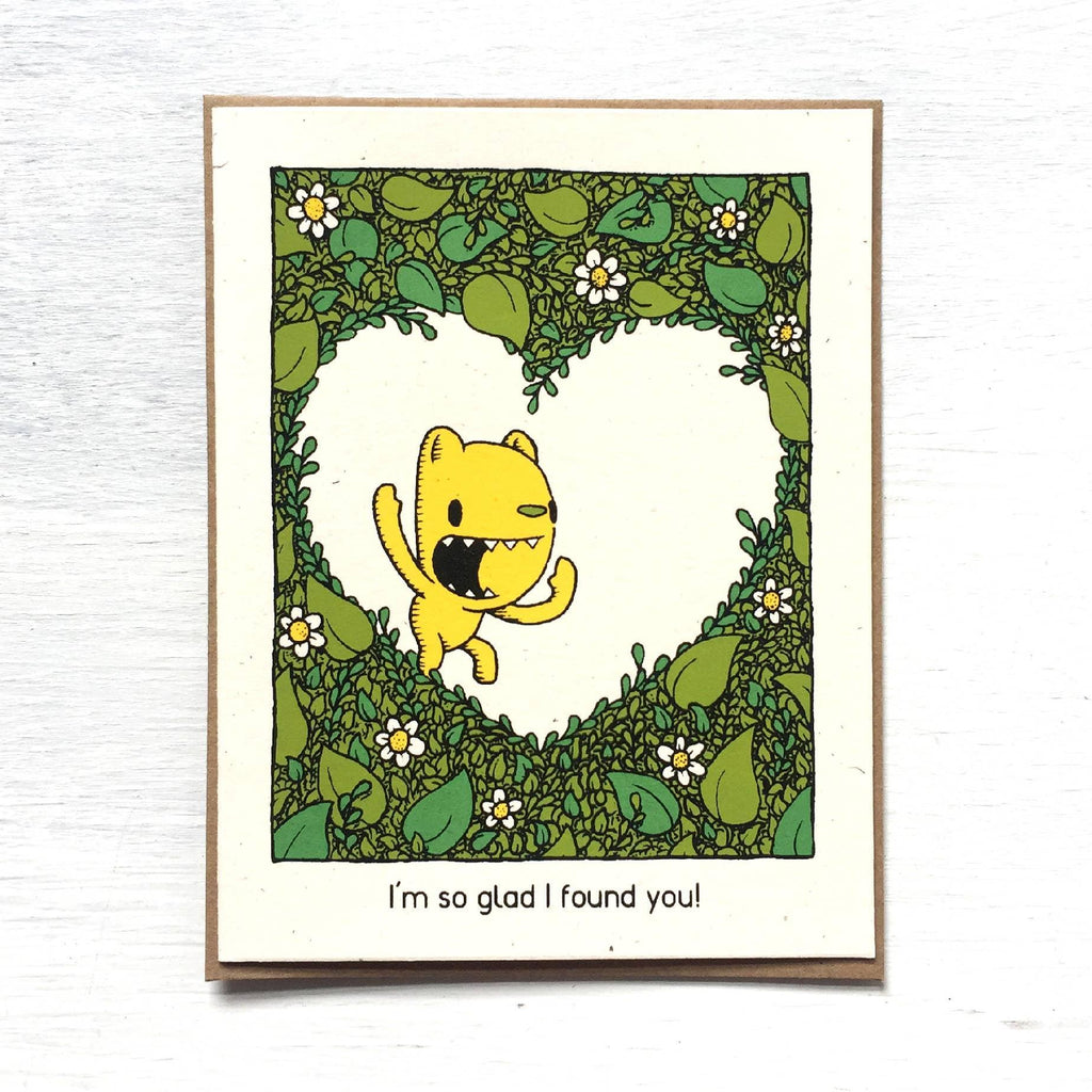 Card - So Glad I Found You by Everyday Balloons Print Shop