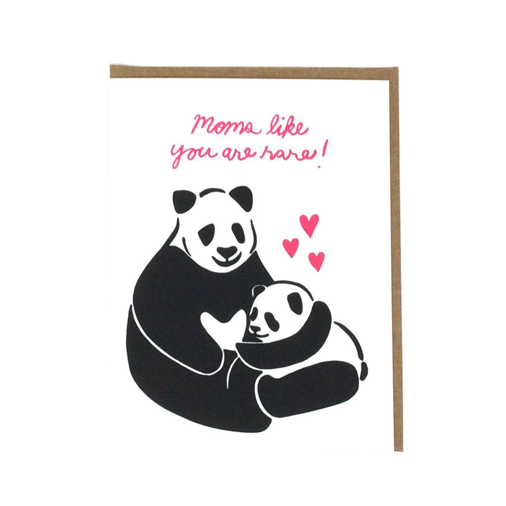 Card - Mother's Day - Rare Panda by Orange Twist