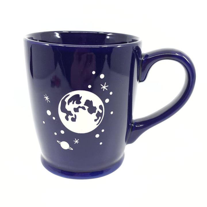 Mug - 16oz Navy Moon and Stars (Retired) by Bread & Badger