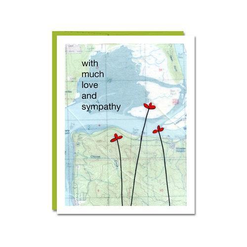 Card - Sympathy - Love and Sympathy by Rachel Austin Art