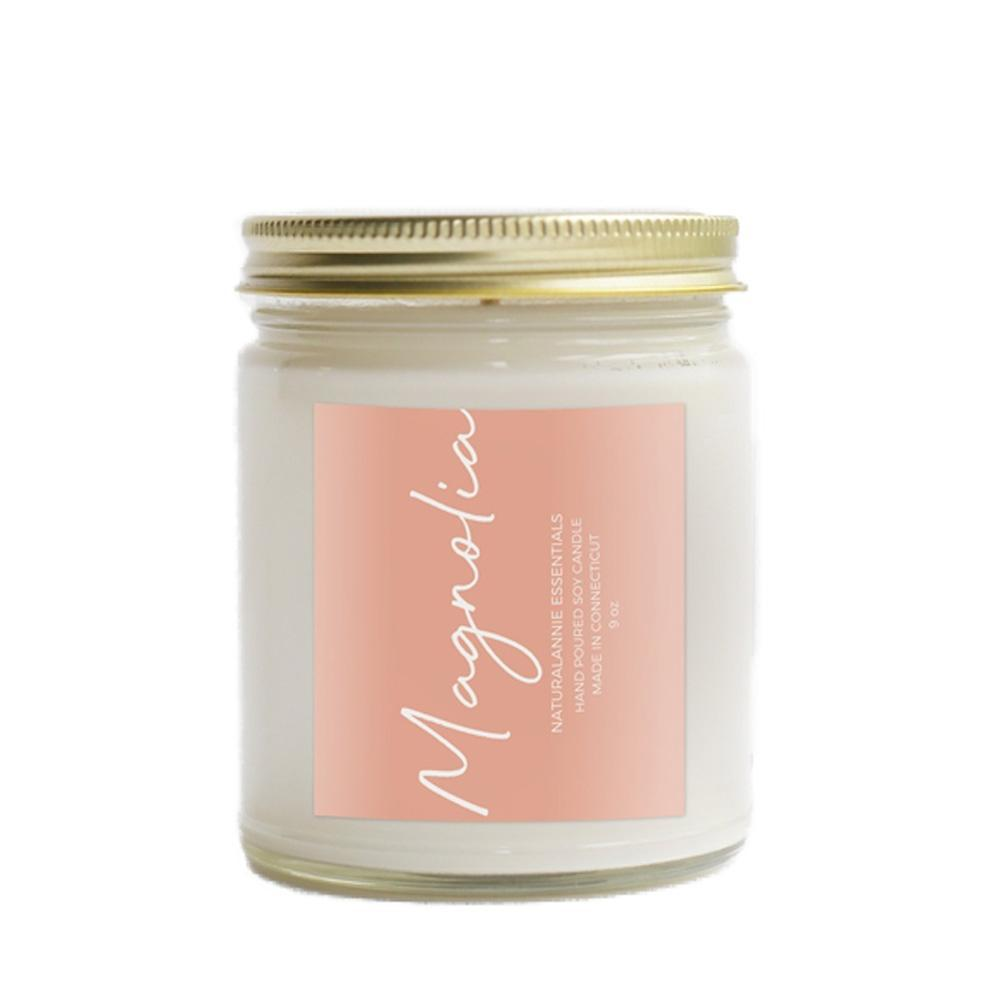 Candle 9oz - Magnolia Blossom by NaturalAnnie Essentials