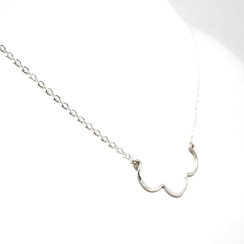 Necklace - Scallop Sterling Silver by Foamy Wader