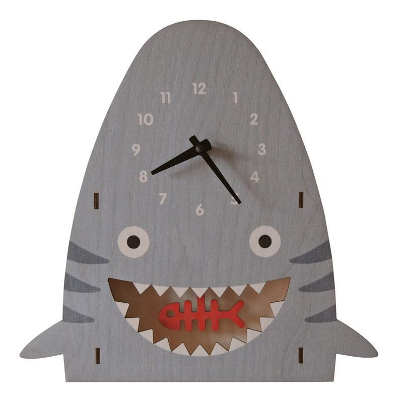 Clock - Shark Pendulum by Modern Moose