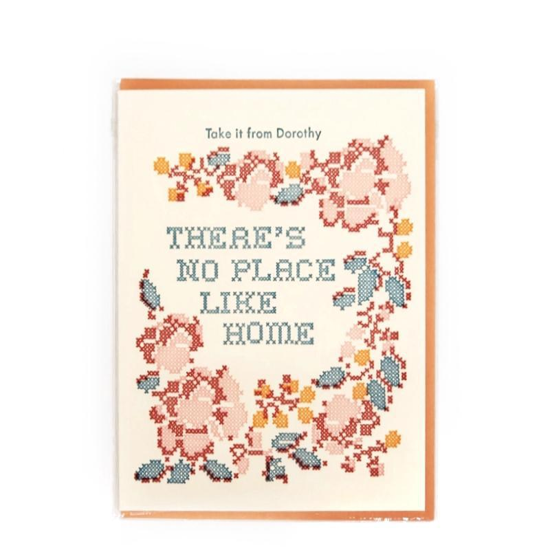 Card - Housewarming - Orange No Place Like Home by Ilee Papergoods