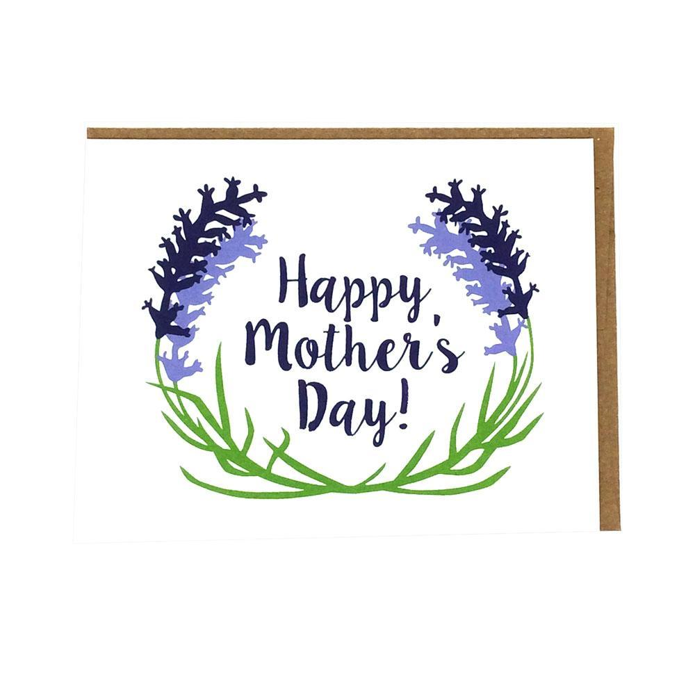 Card - Mother's Day - Lavender by Orange Twist