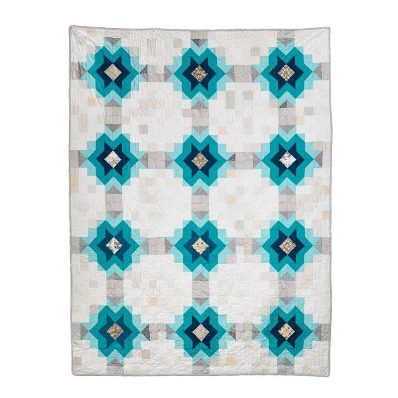 Pattern - Echo Star Quilt by Wise Craft